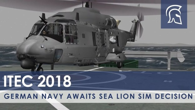 German Navy Awaits Sea Lion Sim Decision