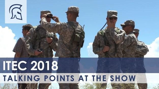 Talking Points At ITEC 2018