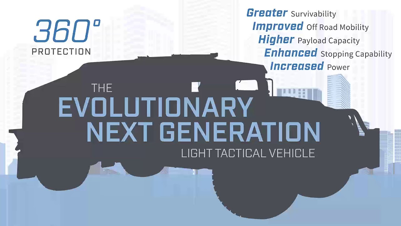 AM General at Eurosatory 2018 defense exhibition will unveil its new light tactical vehicle