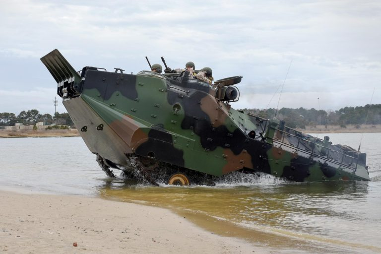 BAE to manufacture 36 Assault Amphibious Vehicles for Taiwan