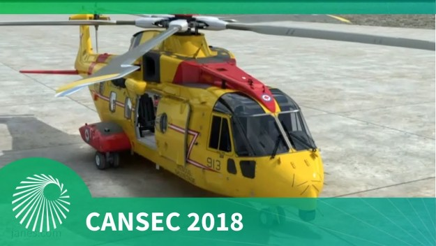 CANSEC 2018: AW101/CH-149 Leonardo Cormorant Mid-Life Update