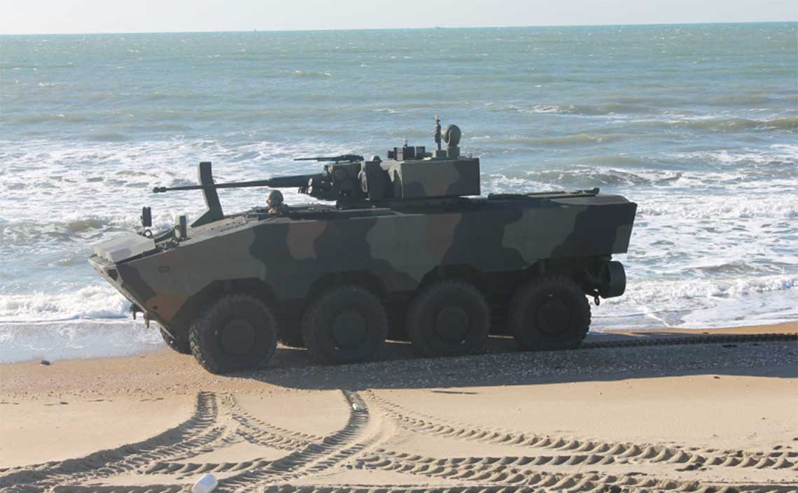 CIO VBA Amphibious Armoured Vehicle