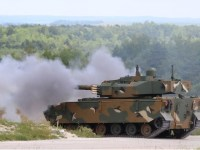 CMI Defence weapon systems turret 25 30 90 105mm live firing demonstration Suippes France