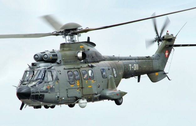 Eurocopter AS332 Super Puma Military Helicopter Wallpapers