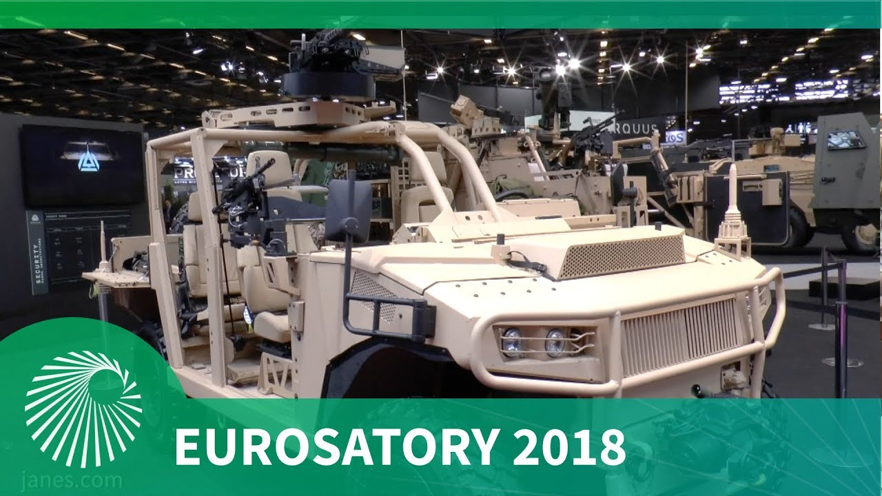 Eurosatory 2018: AQUUS new AREG Light Tactical Vehicle for Special Operations