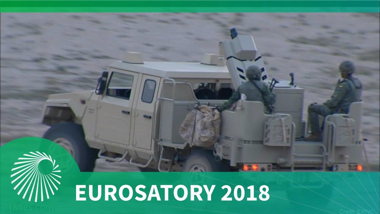 Eurosatory 2018: EXPAL's EIMOS integrated mortar system
