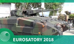 Eurosatory 2018: German Puma Infantry Fighting Vehicle