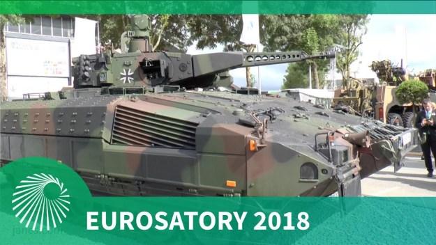 Eurosatory 2018: German Puma Infantry Fighting Vehicle