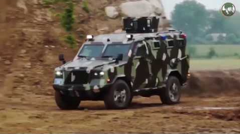 Eurosatory 2018 IAG presents Jaws 4x4 APC and Guardian Xtreme 4x4 MRAP