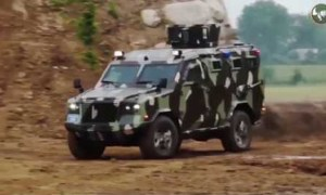 Eurosatory 2018 IAG presents Jaws 4x4 APC and Guardian Xtreme 4x4 MRAP