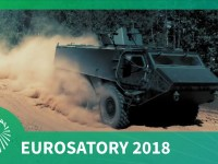 Eurosatory 2018: Patria launches new 6×6 APC