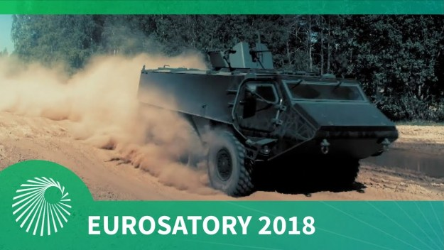 Eurosatory 2018: Patria launches new 6x6 APC