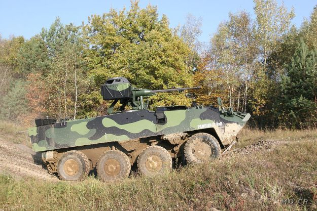 Excalibur Army Pandur II 8x8 Armoured Personnel Carrier