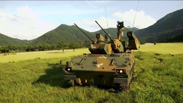 K30 Biho 	Self-propelled anti-aircraft gun