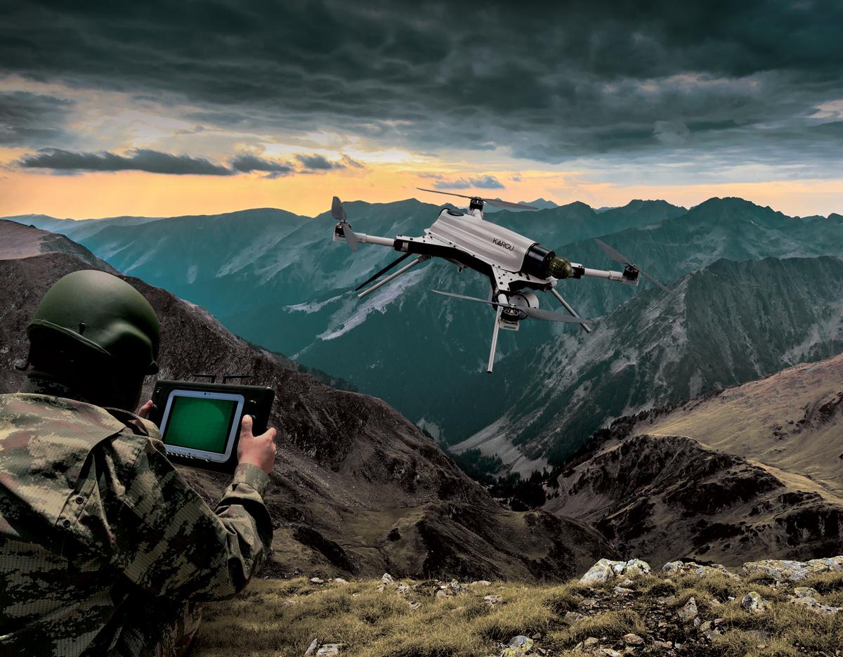 KARGU Autonomous Rotary Wing Attack Drone