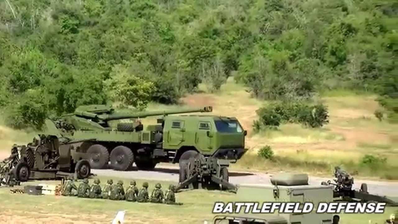 Royal Thai Army ATMG (Autonomous Truck Mounted Gun)