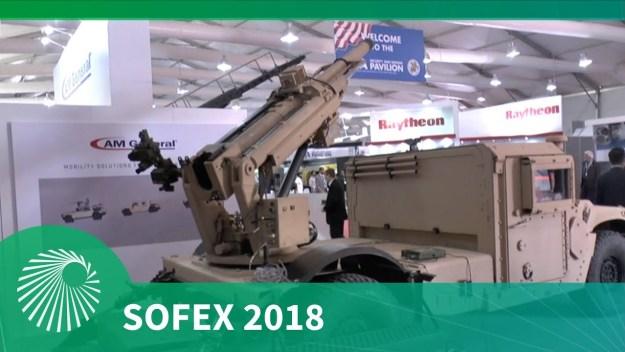 SOFEX 2018: Hawkeye 105mm programme