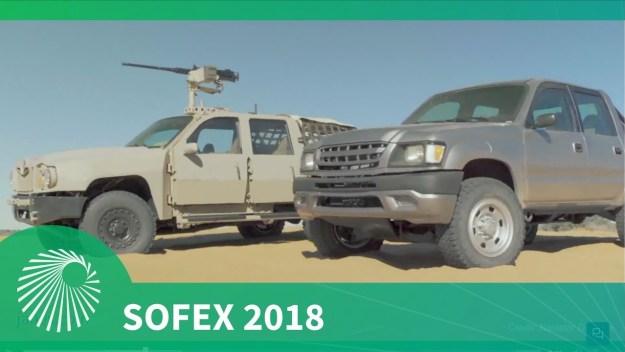 SOFEX 2018: Navistar Defense Special Operations Tactical Vehicle (SOTV)