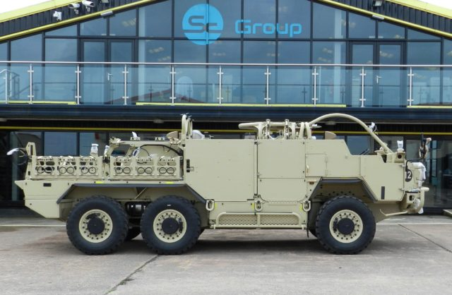 Supacat Delivers Norway's First HMT Vehicle