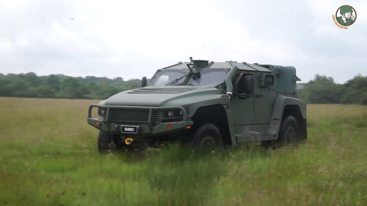 Thales Hawkei 4x4 light protected vehicle for French Army Scorpion Program