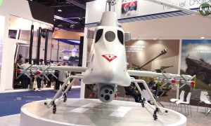 Yugoimport from Serbia unmanned ground and aerial vehicle Strsljen Little Milosh Sparrow UMEX 2018