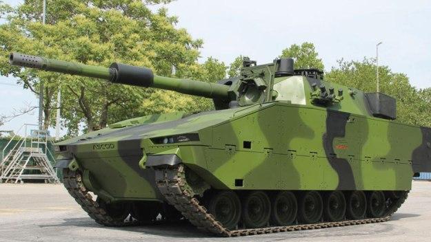 ASCOD MMBT Medium Main Battle Tank