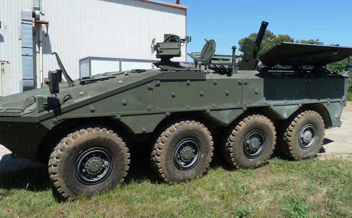 CIO Centauro AMC 8x8 120 mm Mortar Carrier