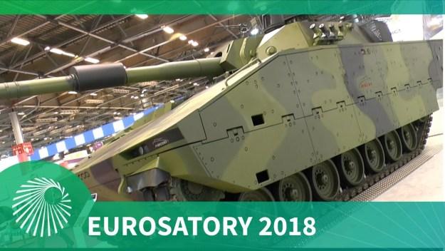 Eurosatory 2018: ASCOD Family of tracked vehicles