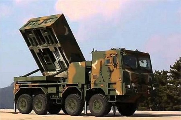 K239 Chunmoo K-MLRS Multiple rocket launcher