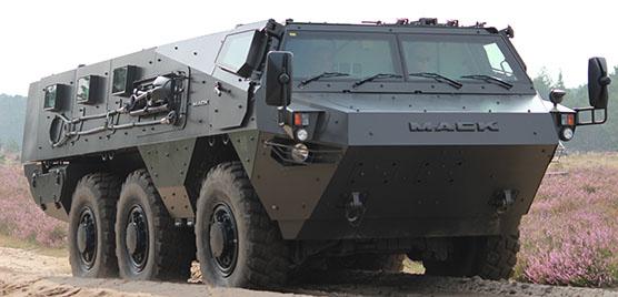 MACK Defense Lakota 6x6 armoured personnel carrier