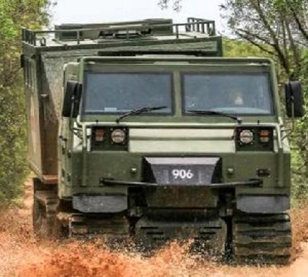 Norinco JM-8 tracked articulated armoured personnel carrier