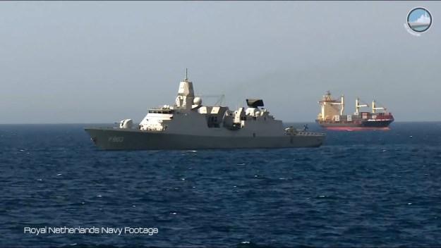Royal Netherlands Navy Frigate HNLMS Tromp (F803) at Belgian Navy Days 2018