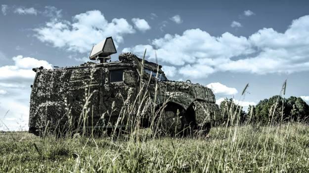 SAAB Mobile Short-Range Air Defence (MSHORAD)