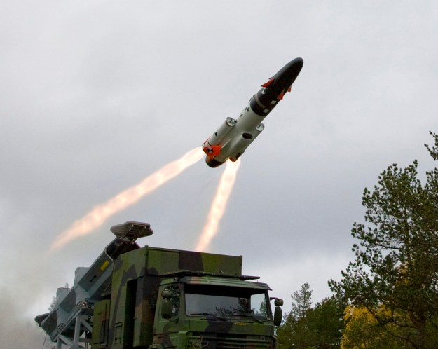 SAAB RBS15 Mk3 Surface-to-Surface Missile System