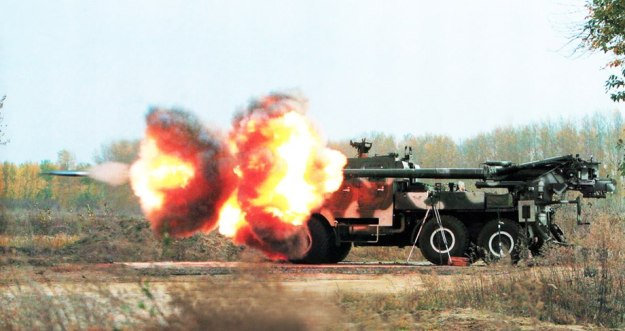 SH1 155 mm self-propelled howitzer