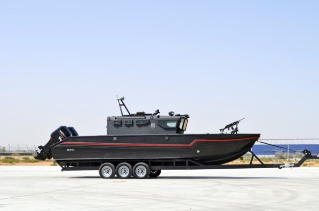 STREIT Group unveiled the Triton-G810 armoured boat at Eurosatory 2018