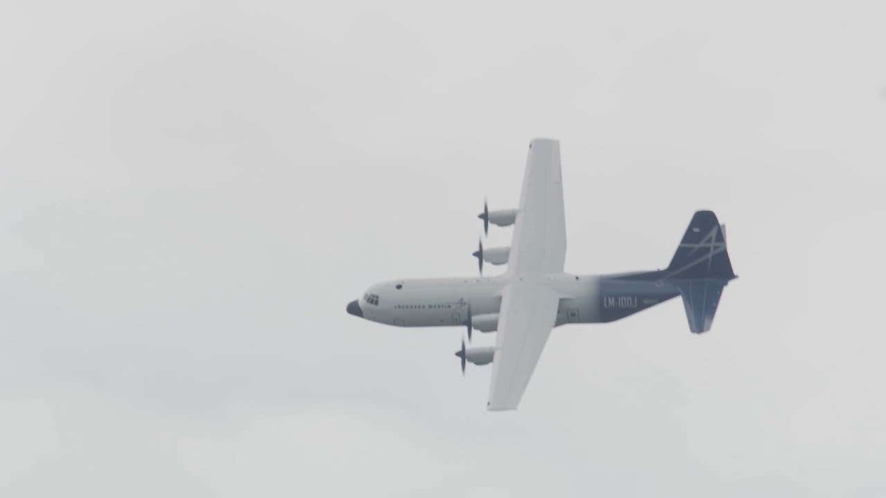 The LM-100J Wows a Global Audience at Farnborough Airshow