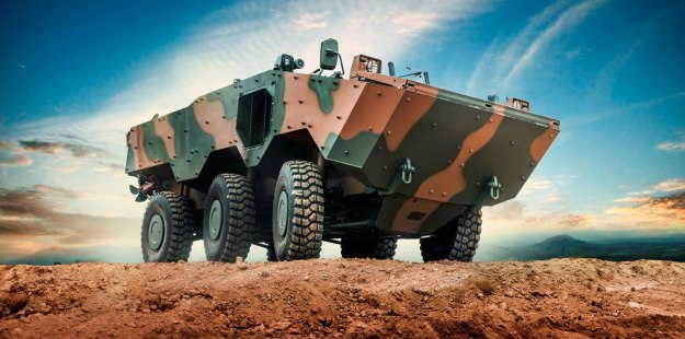 VBTP Amphibious Armoured Vehicle