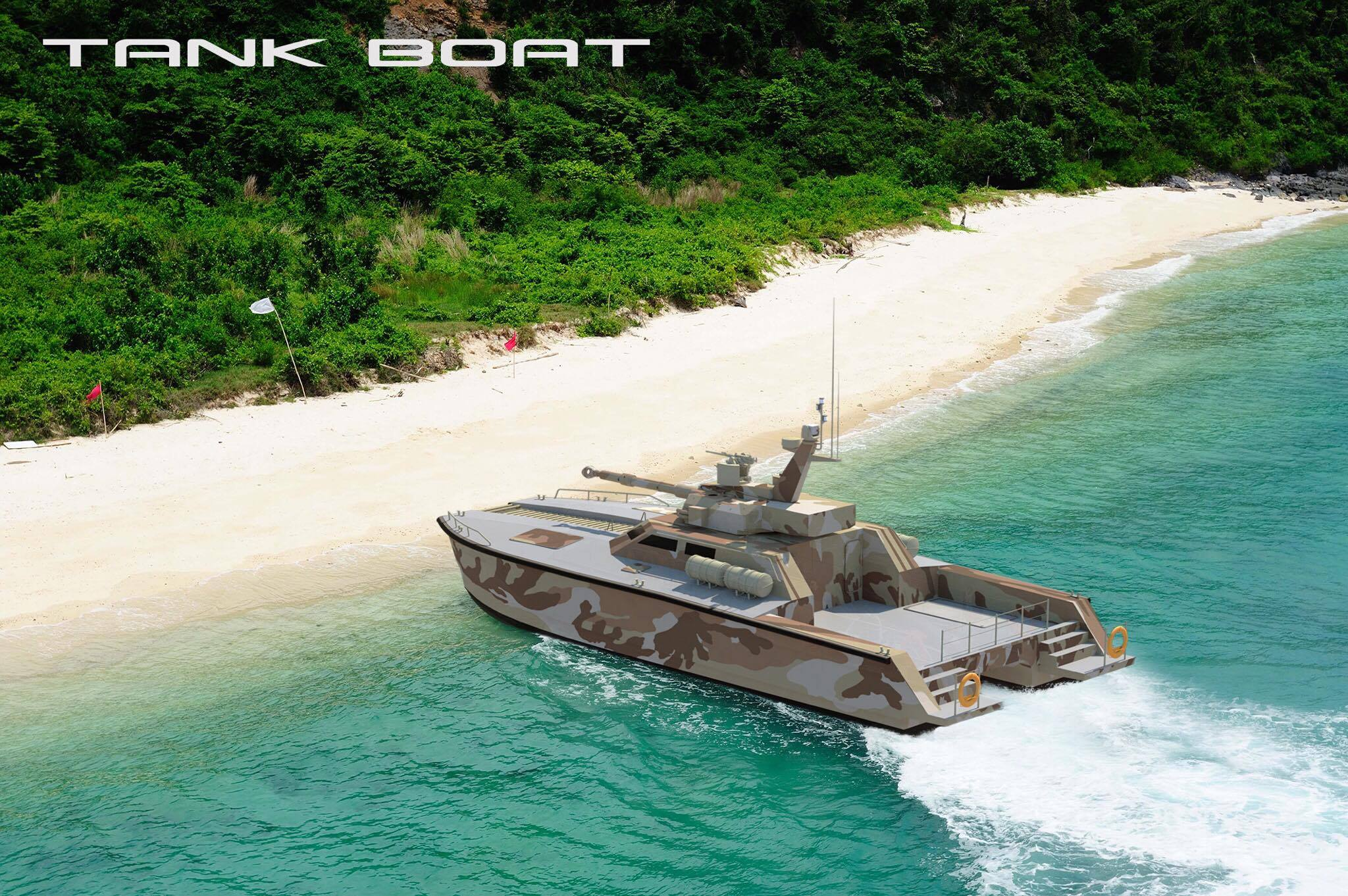 X-18 Tank Boat