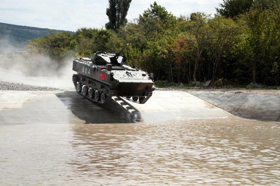 ZLC 2000 airborne combat vehicle