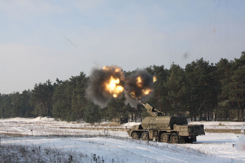 155 mm ShKH Zuzana 2 Self-propelled Howitzer