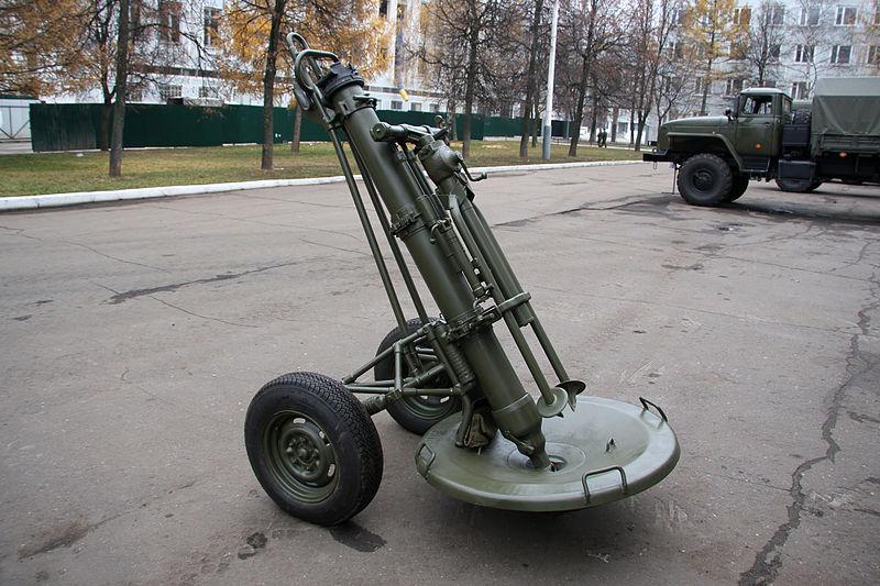 2S12 Sani 120 mm Heavy Mortar