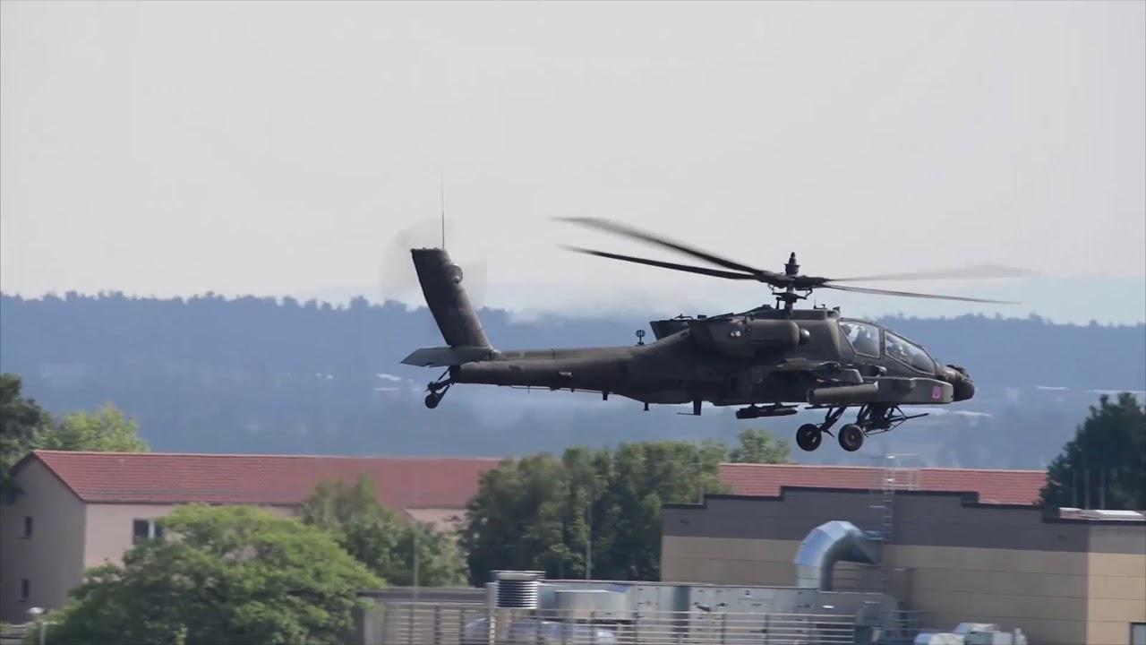 AH-64 Apache Traffic Pattern Training