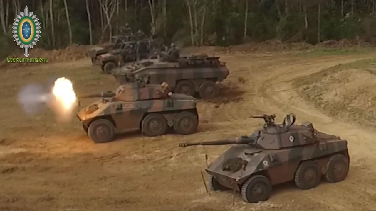 Brazilian Army EE-9 Cascavel Armoured Car