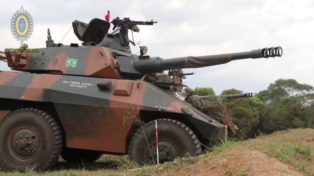 Brazilian Army EE-9 Cascavel Armoured Car