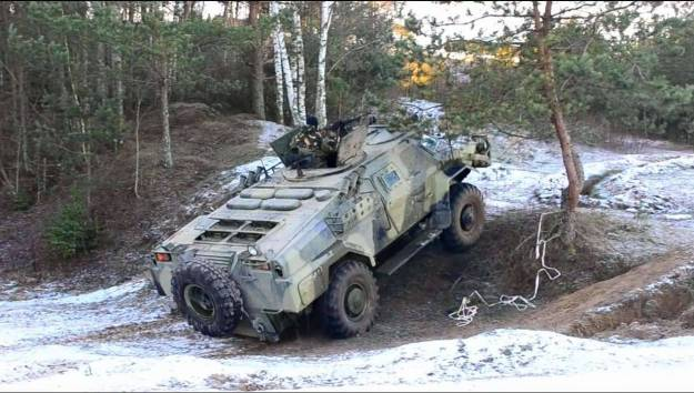 Cayman Armoured Reconnaissance Vehicle