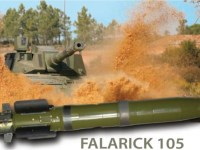 Falarick 105 Gun Launched Anti Tank Guided Missile (GLATGM)