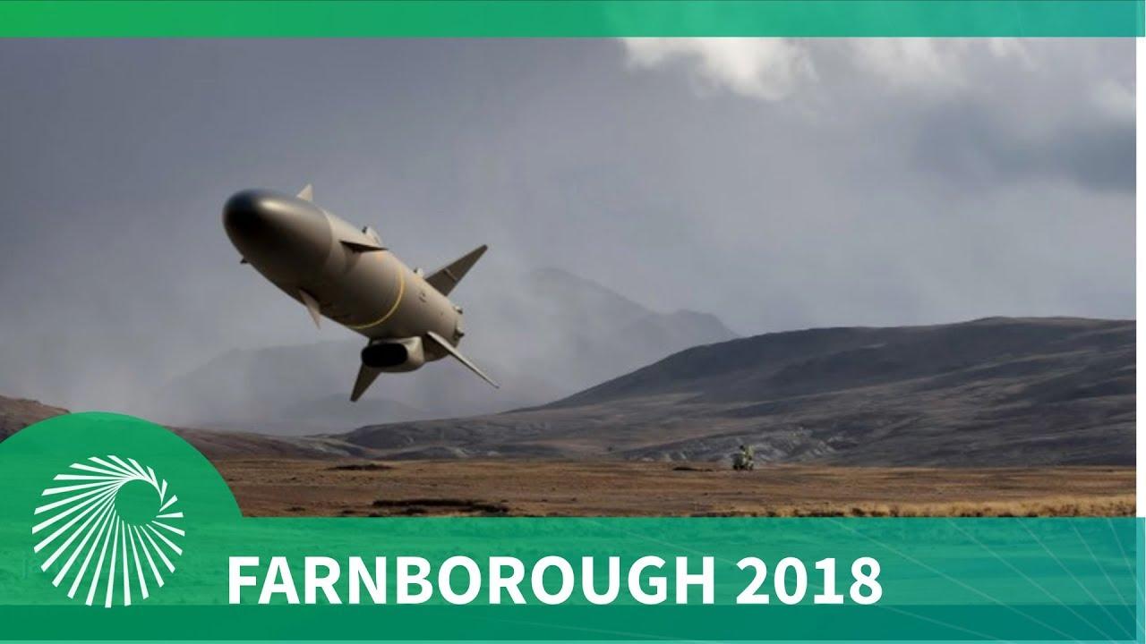 Farnborough 2018: SAAB launch their latest RBS15 Gungnir missile