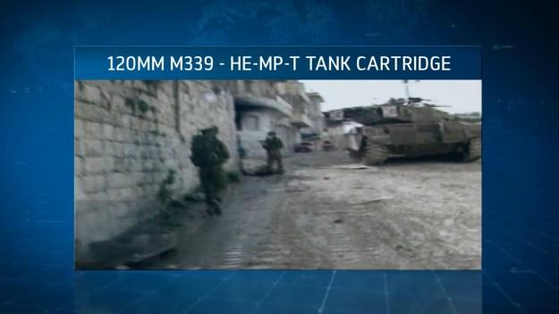 Hatzav 120mm M339 HE MP T Tank Cartridge