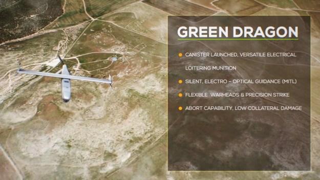 IAI Green Dragon Loitering Munition